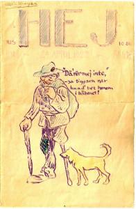 Första sidan i Cellos allra första tidning.