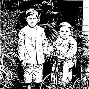 Detta är inte bröderna Carle, åtminstone inte år 1989.
